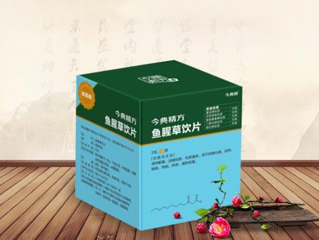 今典鲜®定性定量鱼腥草饮片